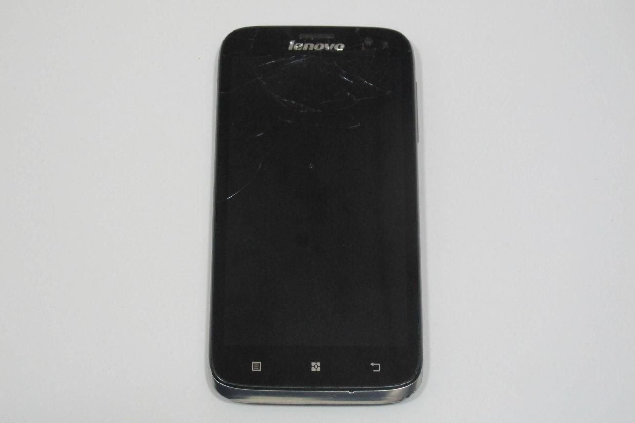 Мобильный телефон Lenovo A859 Black (TZ-512)