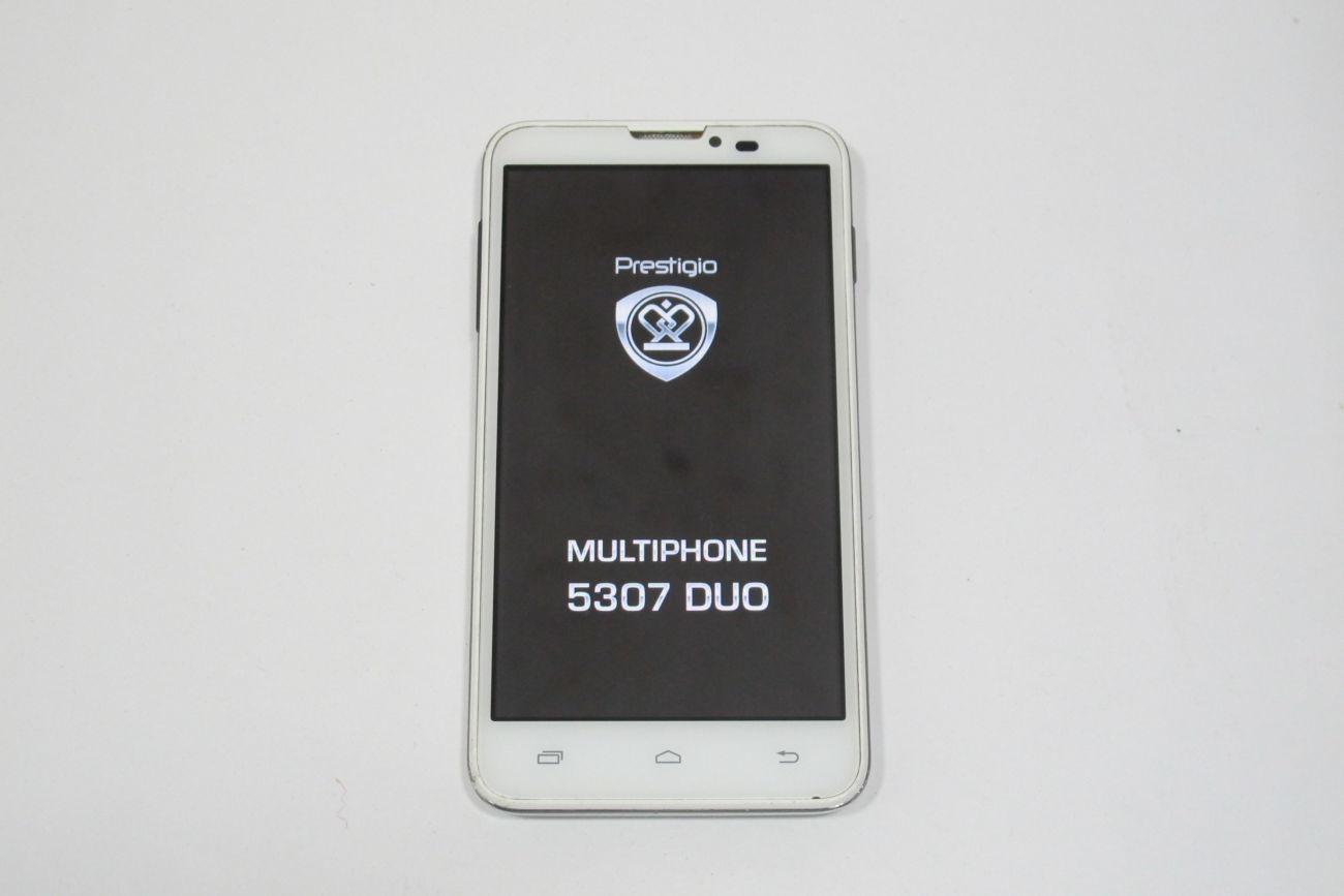 Мобильный телефон Prestigio MultiPhone 5300 Duo White (TZ-1343B)