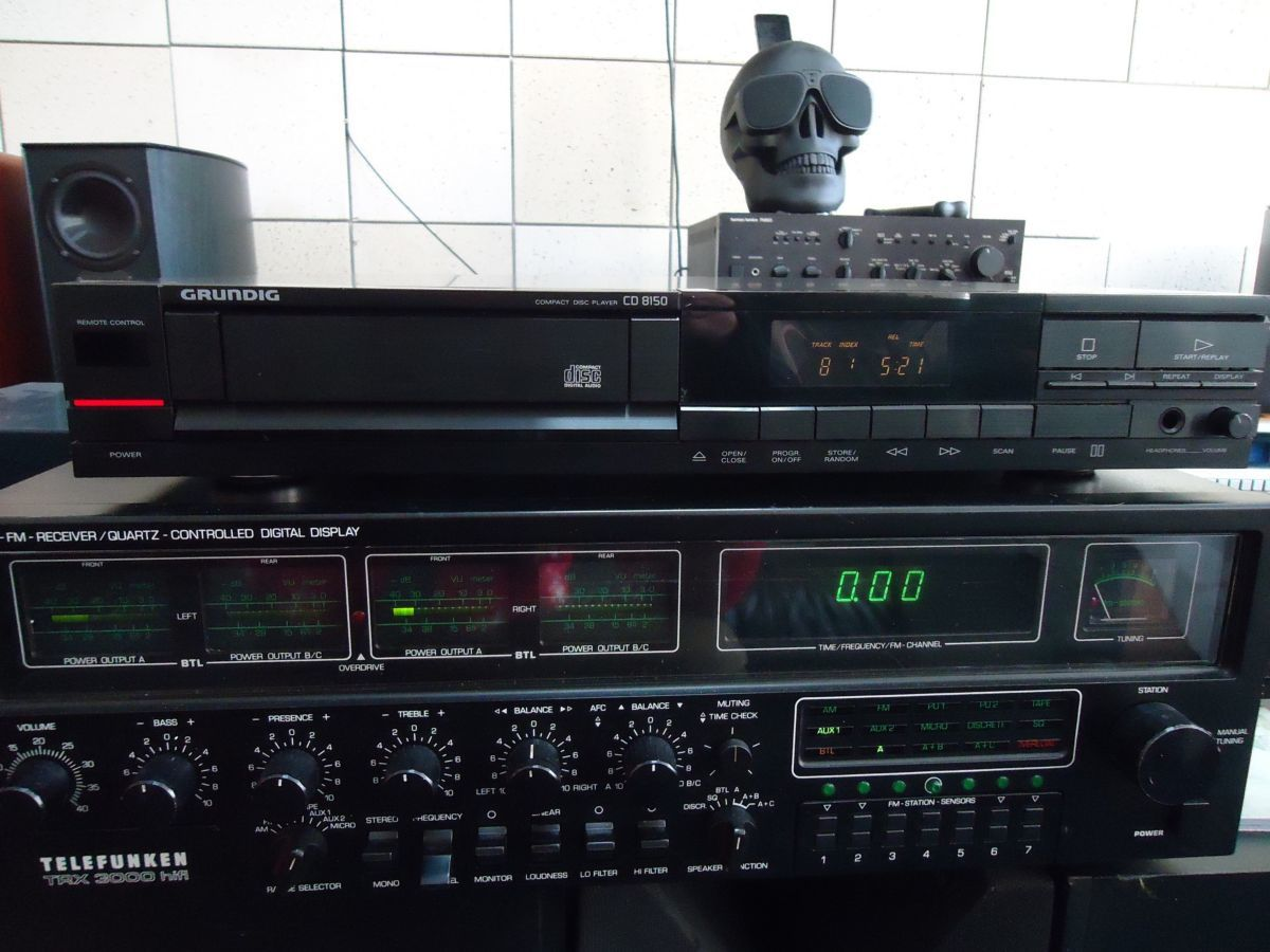 Grundig cd 8150 на TDA1543
