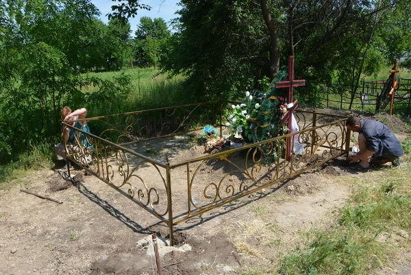 Фото 7 - Оградки кованные, ритуальные на могилу.