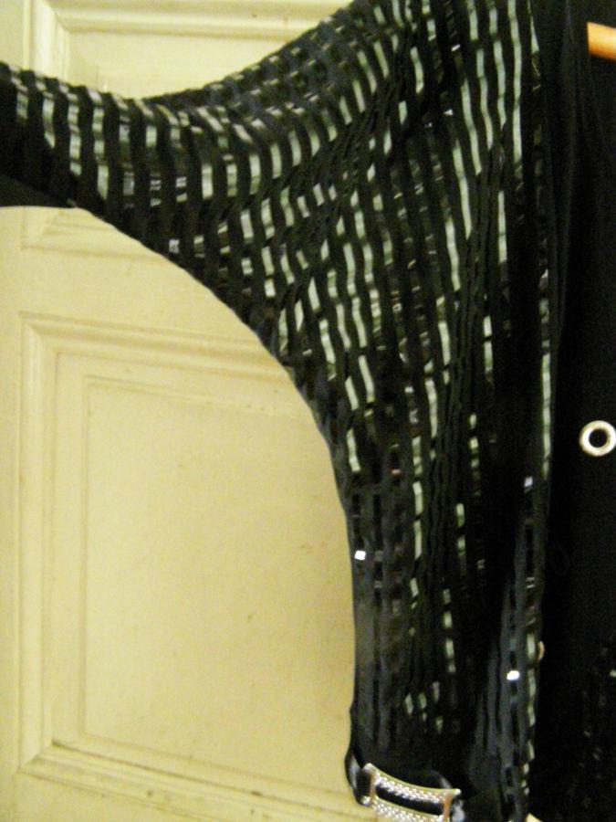 Фото 2 - Эффектная вечерняя туника , кофта 50-54 р