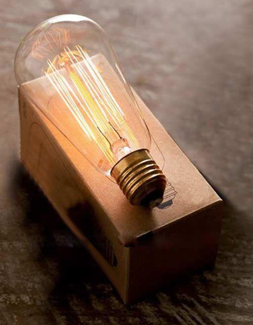Фото - Лампа Едісона ST64 40W