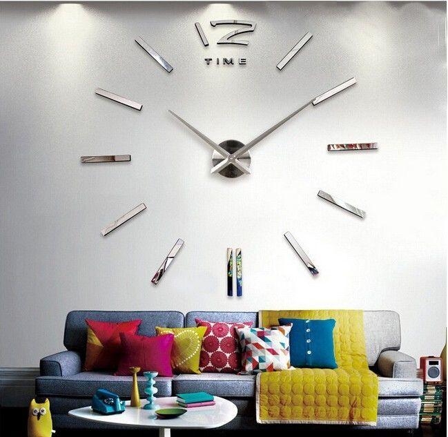 Годинник настінний дизайнерський великий конструктор для інтер єру ... d521243059828