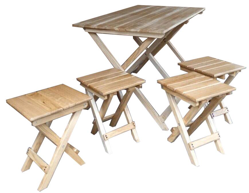 Раскладные столы и стулья для отдыха своими руками 158