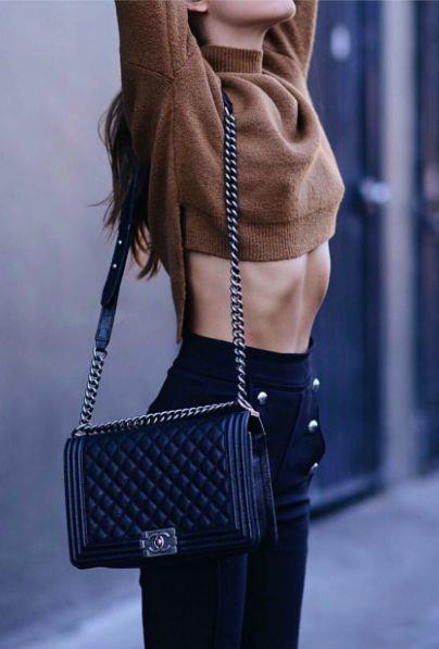 b7ee91f011e0 Женская экокжа сумка Chanel le boy , Шанель бой 30см: 989 грн ...