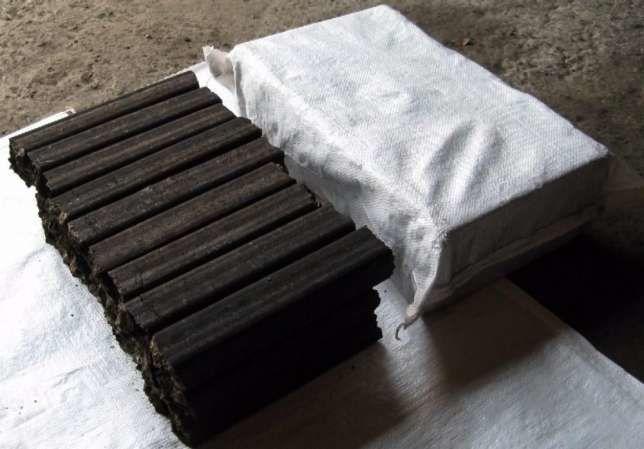 Брикеты топливные pinikey (шелуха подсолнуха) в мешках