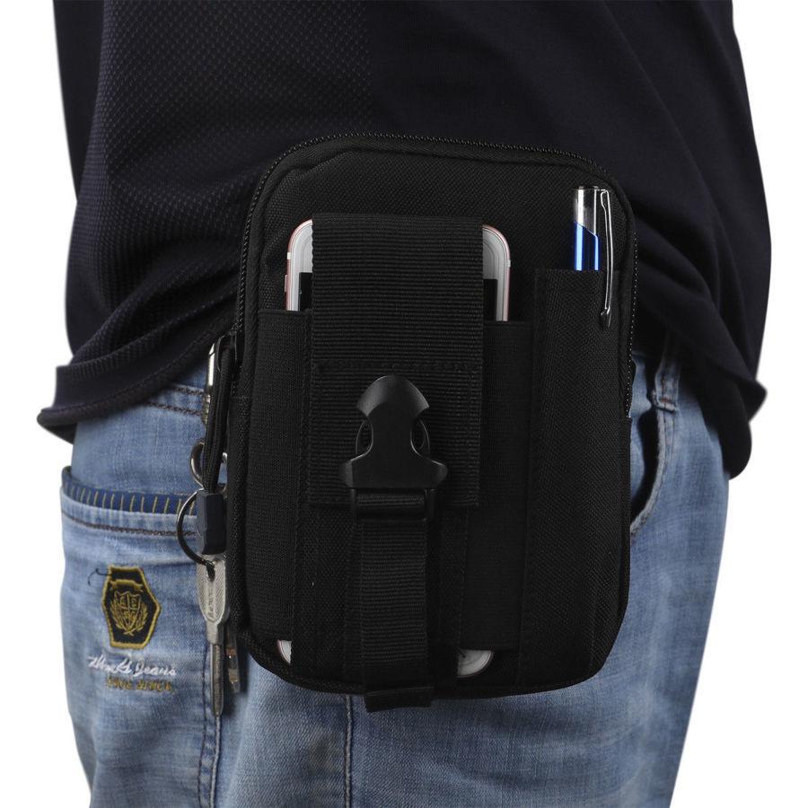 Тактический подсумок органайзер EDC сумка на пояс 1000D на бедро