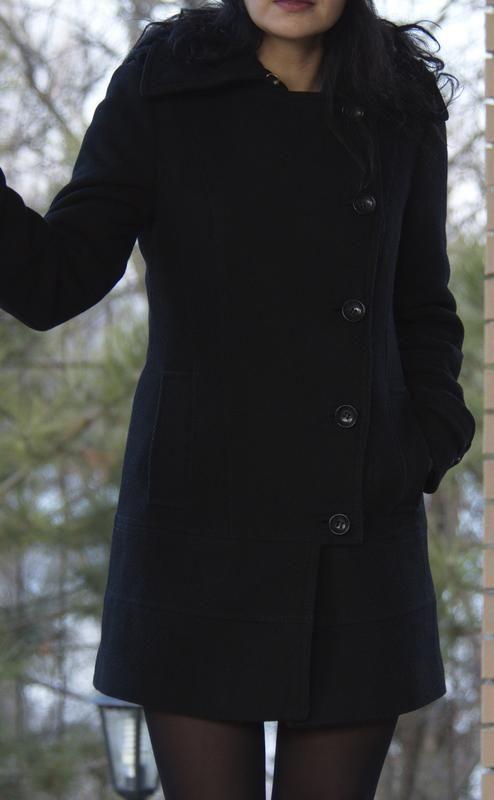Стильное пальто, французская ткань