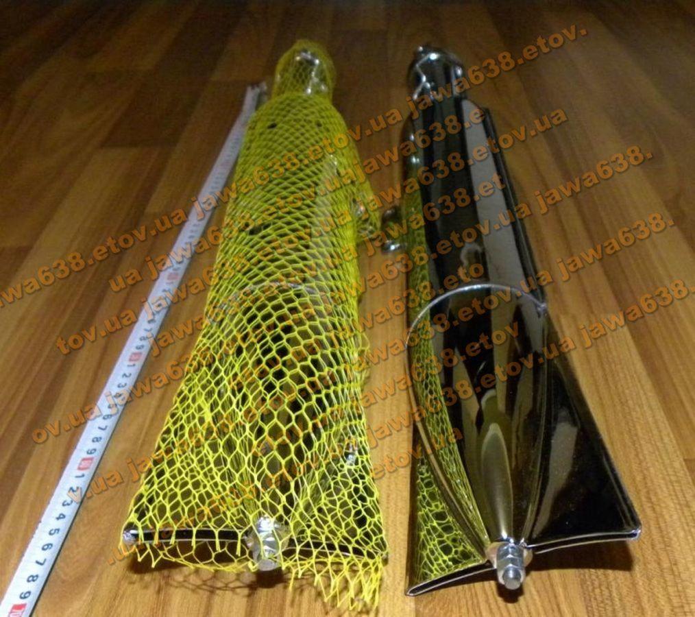 Глушители + колени (трубы) Ява 350 Старушка 250 360 (Рыбий хвост)