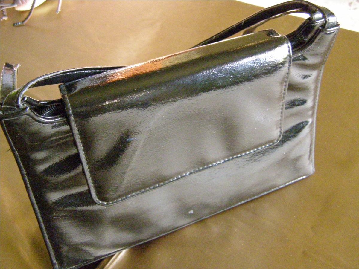 ec835393cd5f Черная женская лаковая сумка сумочка: 245 грн. - Сумки, чемоданы ...