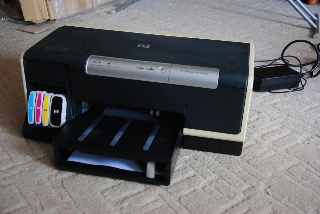 Струйный принтер HP Officejet Pro K5400