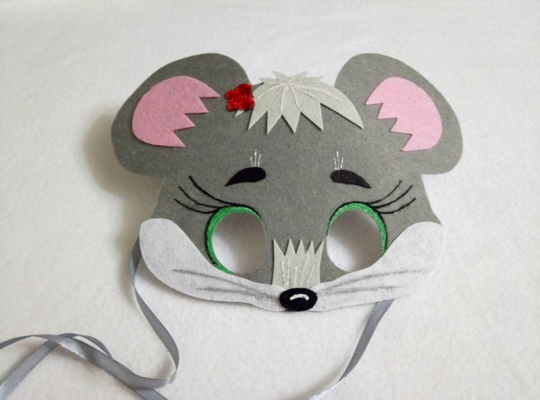 Своими руками маска мышки