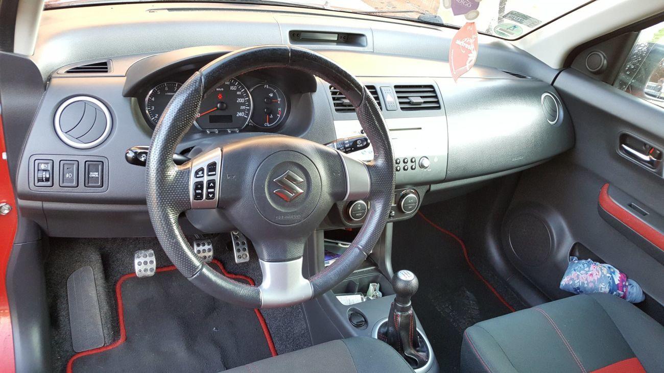 Аirbag:водителя,пассажира Suzuki Swift IV (Сузуки Свифт) 2004-2010 год