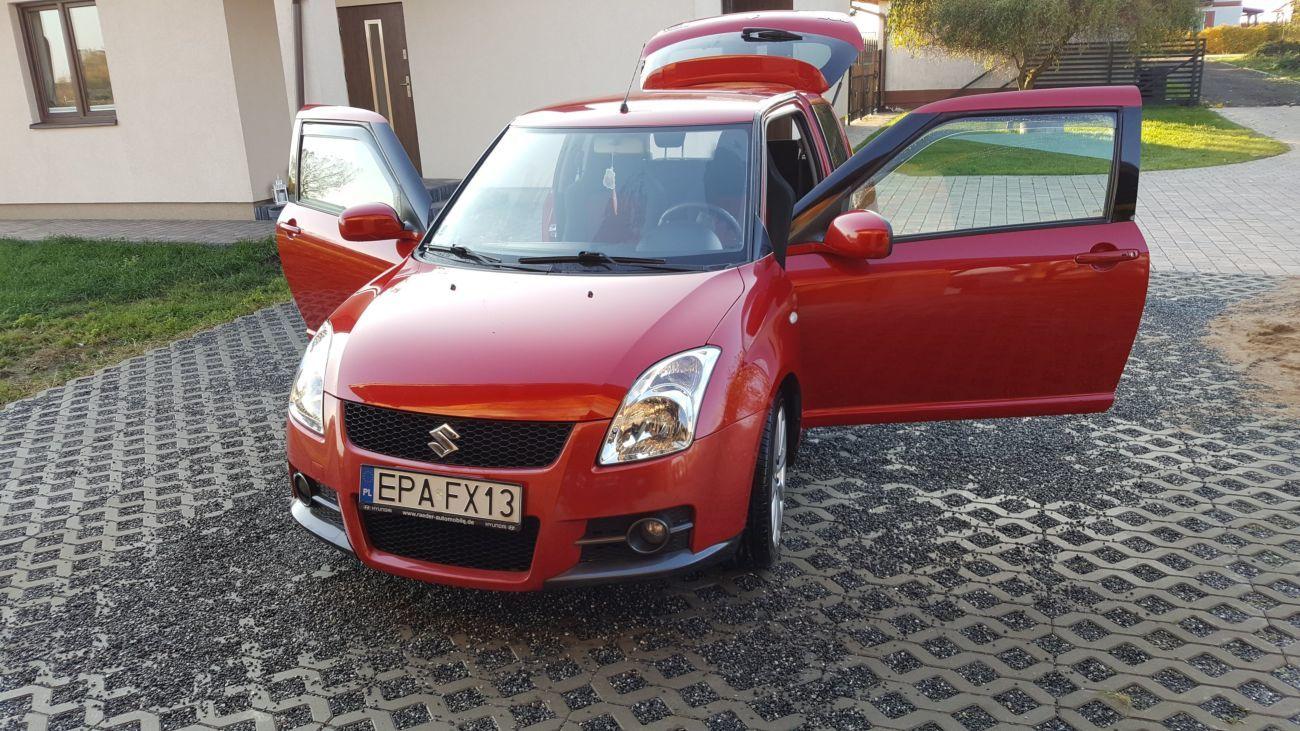 Suzuki Swift IV (Сузуки Свифт) 2004-2010 год. Стекло двери: передней