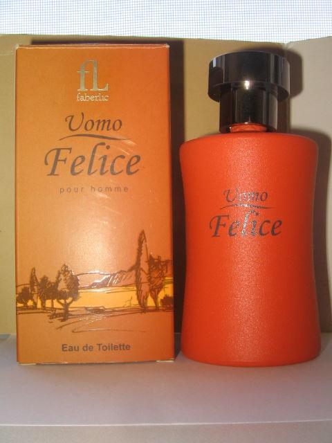 Флакон от Faberlic Uomo Felice 100 мл (пустой)