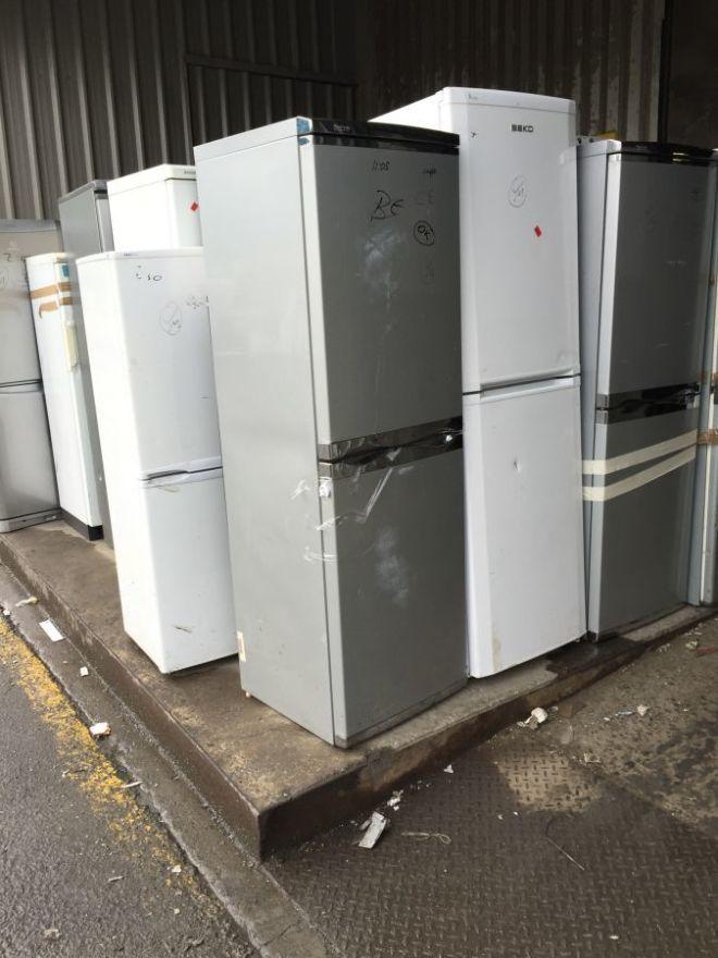 Холодильник, морозильная камера из Европы 4