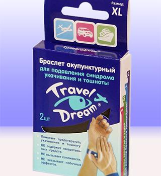 Браслет Travel Dream от укачивания для детей