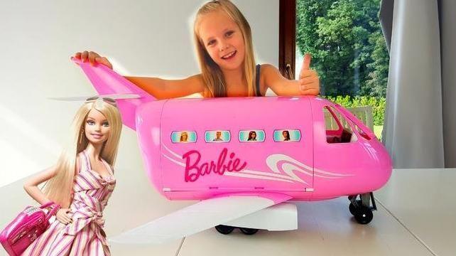 Игровой набор Барби Самолет Barbie Pink Passport Jet