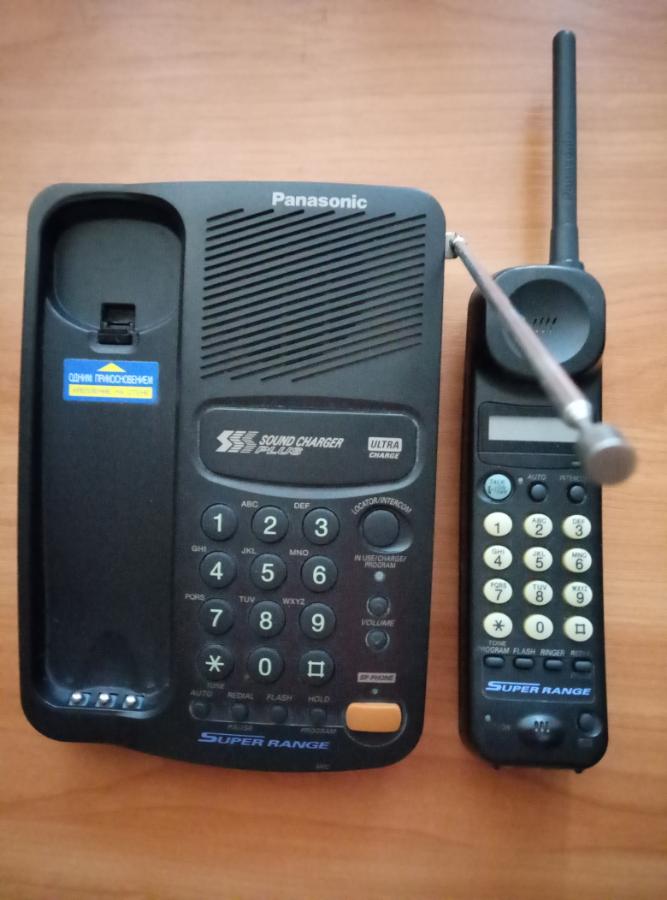 Радиотелефон панасоник ремонт