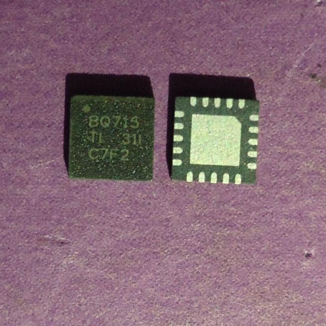 Микросхема TEXAS INSTRUMENTS BQ24715 BQ715 XQ24715