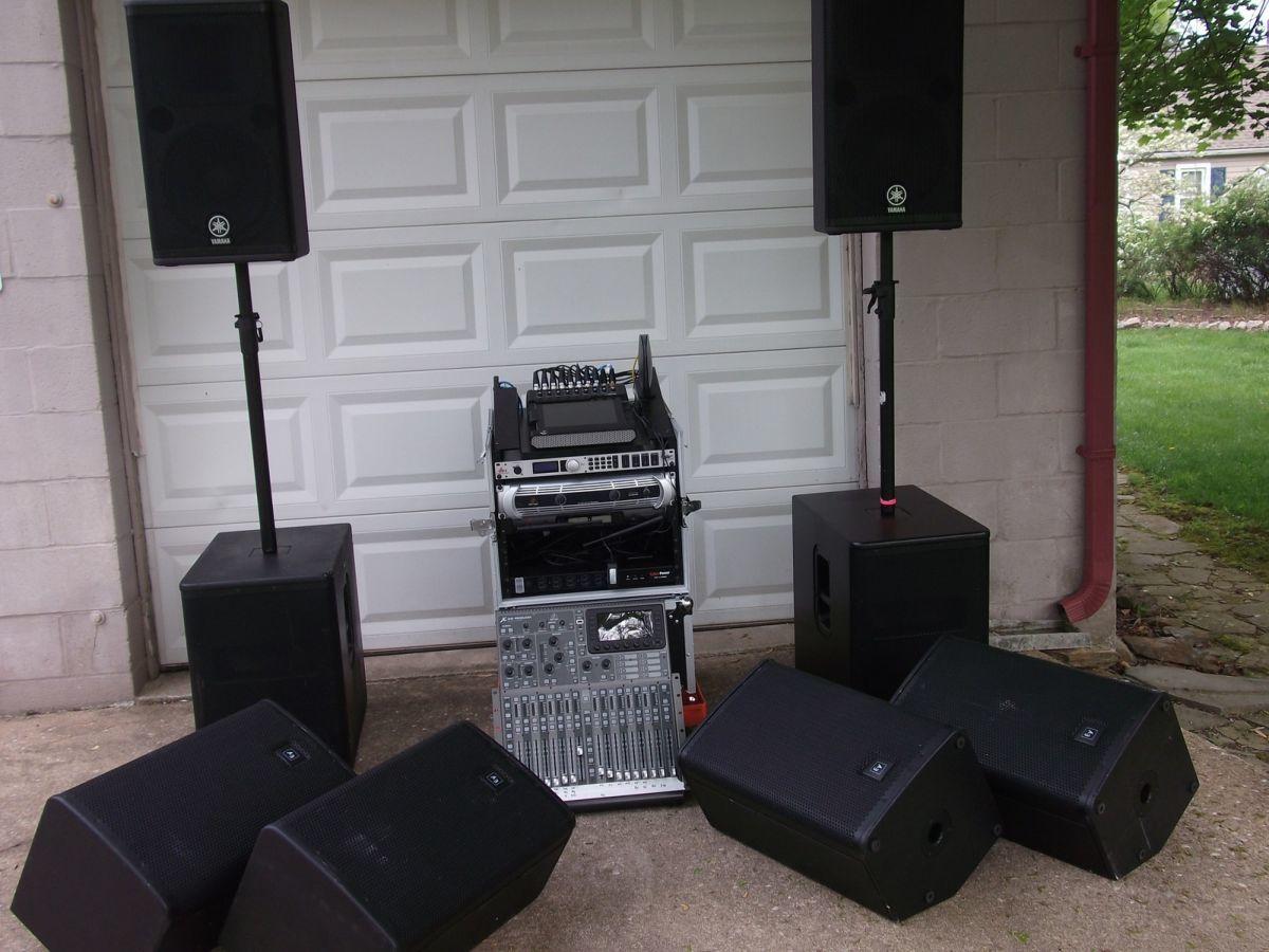 Послуги озвучення масових заходів професійною музичною апаратурою