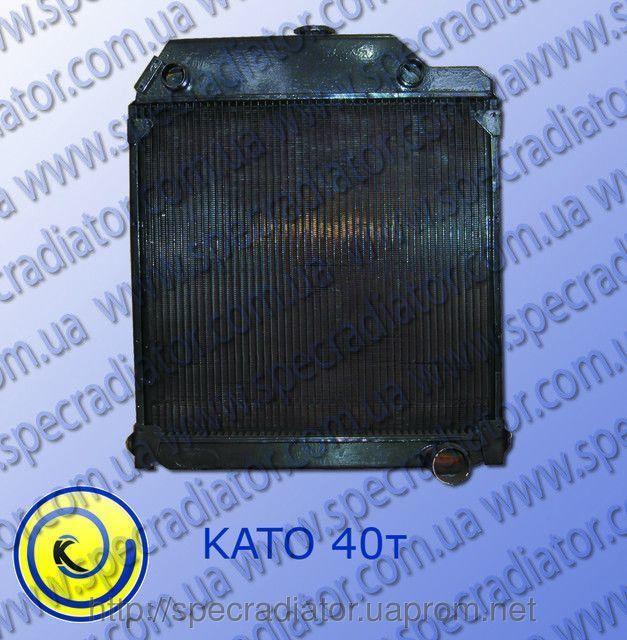 Радиатор системы охлаждения двигателя подъёмного крана  КАТО