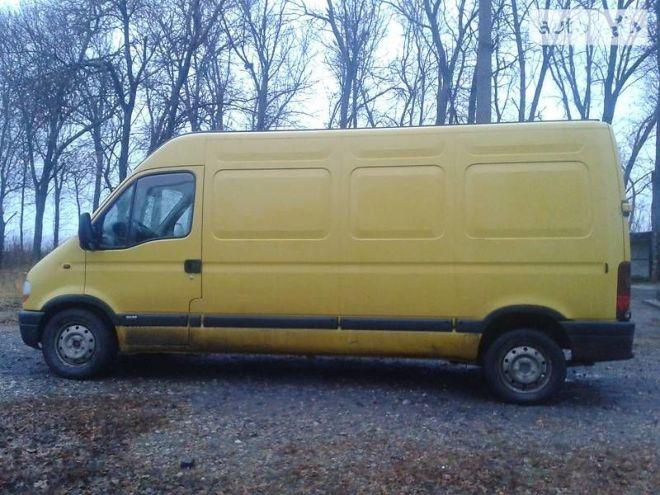 Грузовой микроавтобус Opel Movano Maxi