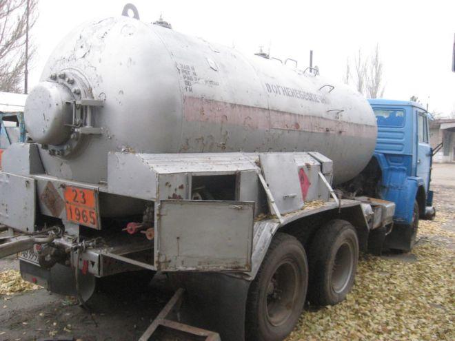 Газовоз КАМАЗ 5320
