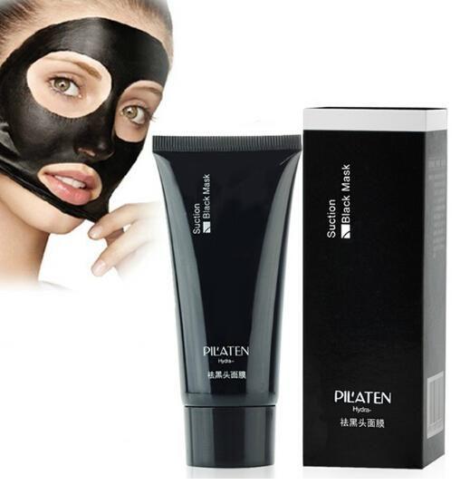 Черная маска для лица Black Mask Pilaten - пилинг лица