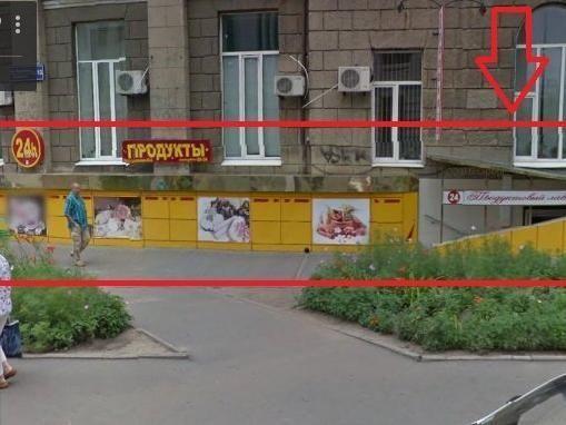Продам без комиссии помещение в центре по кр.линии с отдельным входом