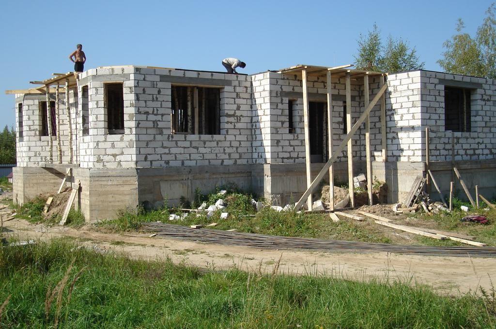 построить дом с 0