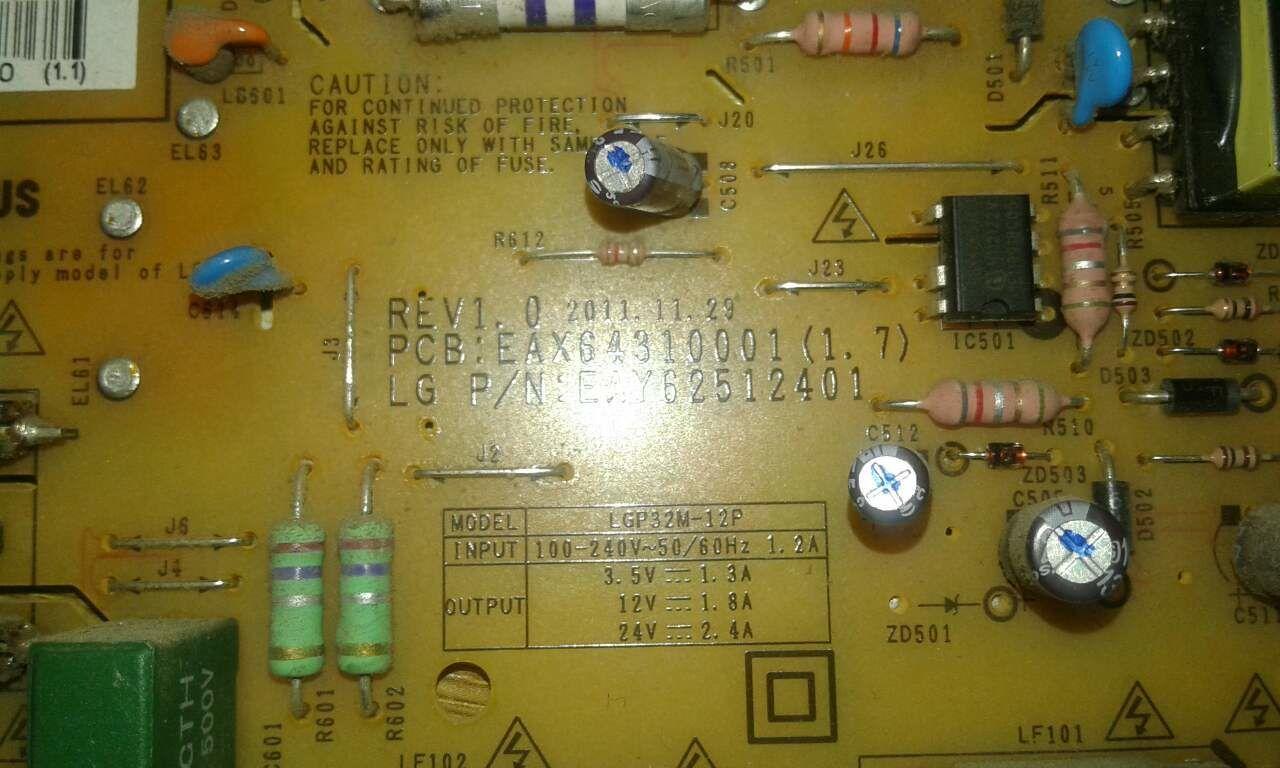 Блок питания на телевизор LG 32LS679C