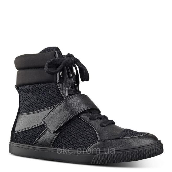 Сникерсы кроссовки хайтопы черные Nine West оригинал