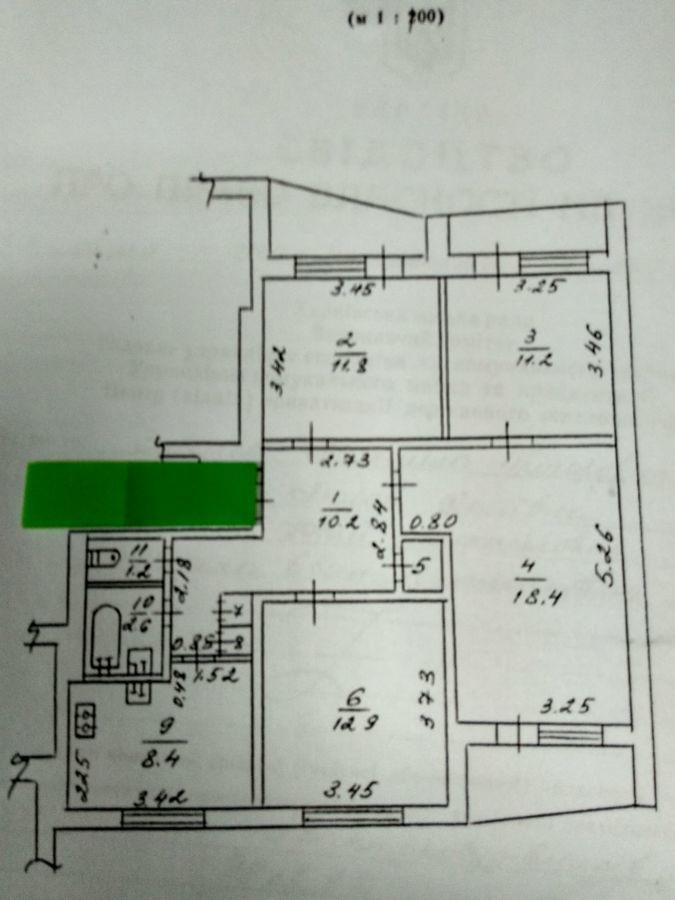 Продам 4 комнатную квартиру на салтовке не дорого