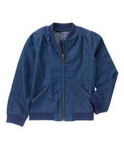 Супер стильная джинсовая курточка Crazy8