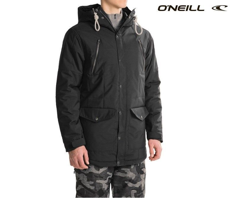 42579ebd3834 O Neill Element сноубордическая мужская куртка 10K 10K черная размер ...