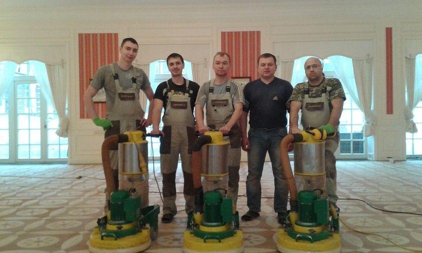 Паркетные работы укладка паркета цены стоимость под ключ Киев