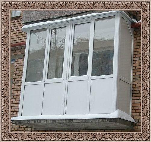 Французское окно с балконом
