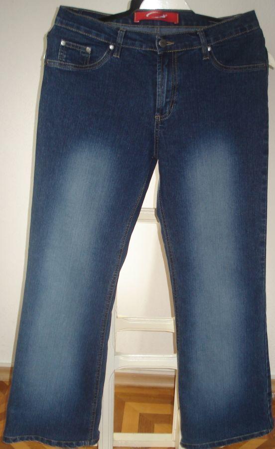 Джинсы / брюки джинсовые женские, большой размер