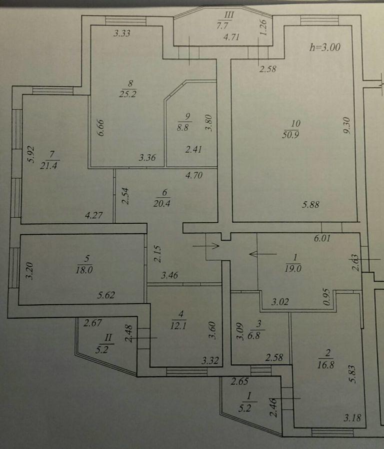 Продам 5-ти комнатную квартиру, на пр. Пушкина 11А