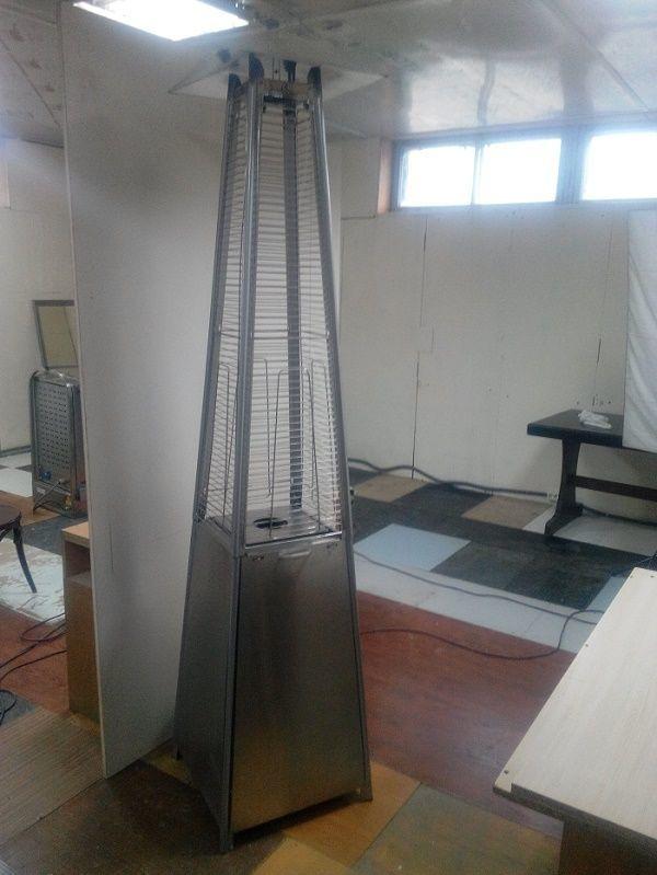 Газовый и электрический обогреватель