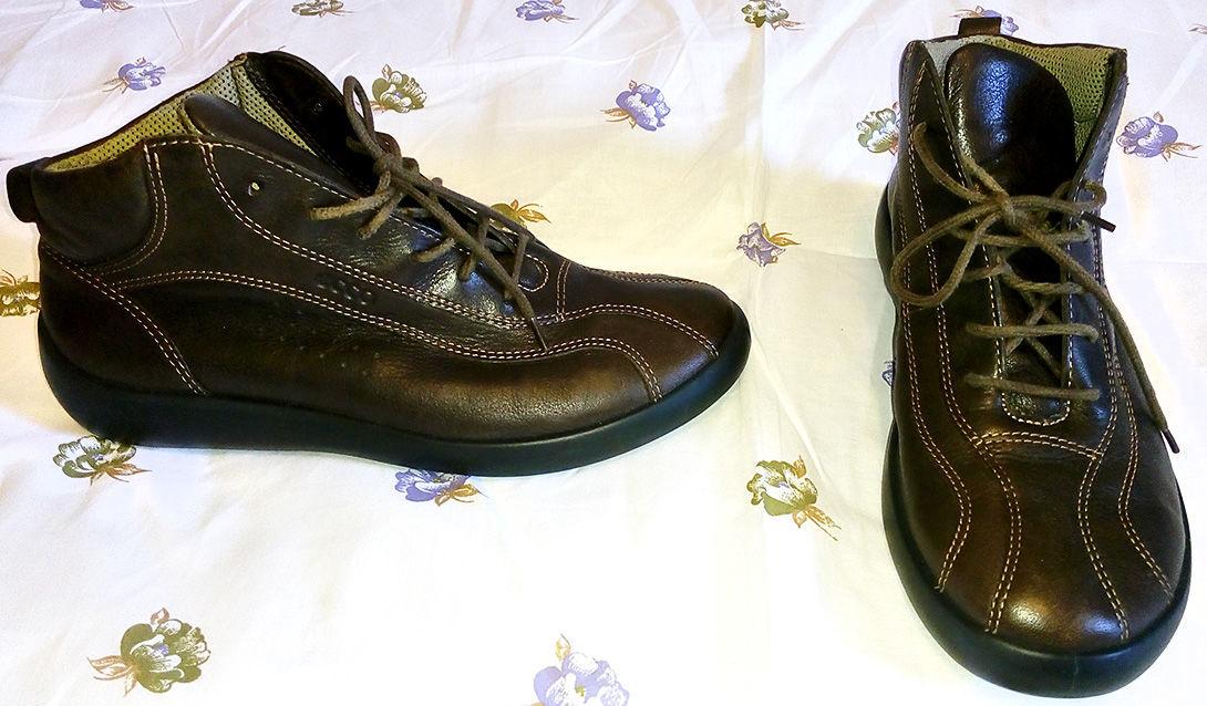 b539de77f Женские ботинки Ecco (Дания) - натуральная кожа, 37 размер: 1 000 ...