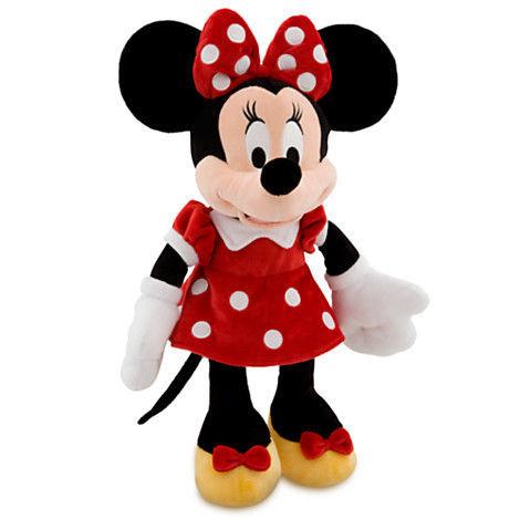 Мягкая игрушка Минни Маус в красном 49 см