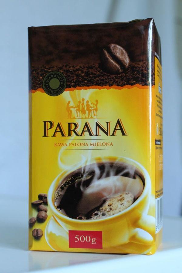 Молотый кофе Parana (Германия). 500 г.
