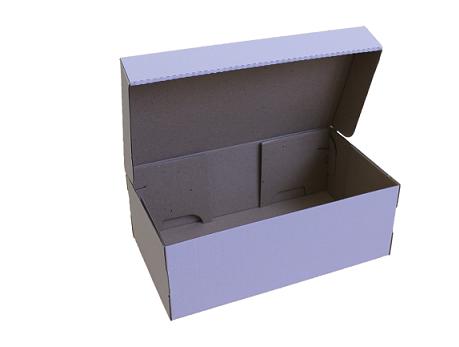 Коробка для обуви 260х170х100 белая