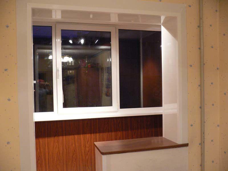 Обшивка балкона - лоджии под ключ - откосы: договорная - бал.