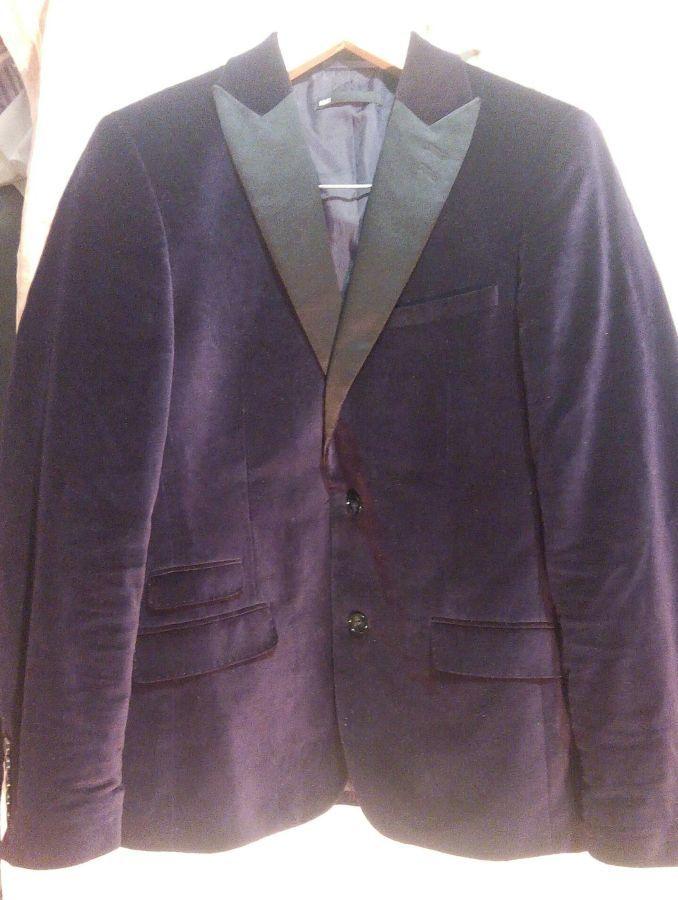 Новый пиджак блейзер бархатный WE Fashion