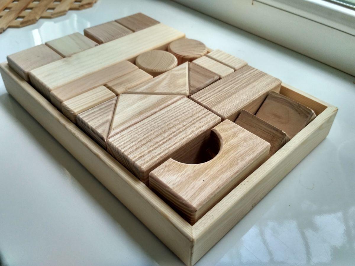 Детский деревянный конструктор европейского качества
