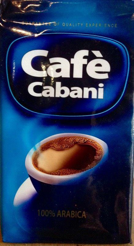 Кофе молотый 100% арабика. Cafe Cabani