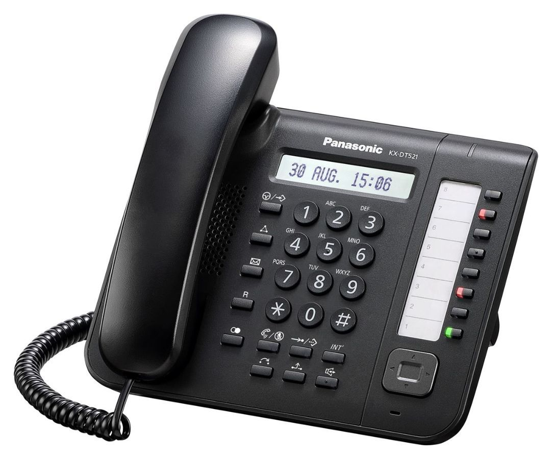 Panasonic KX-DT521RU, системный телефон